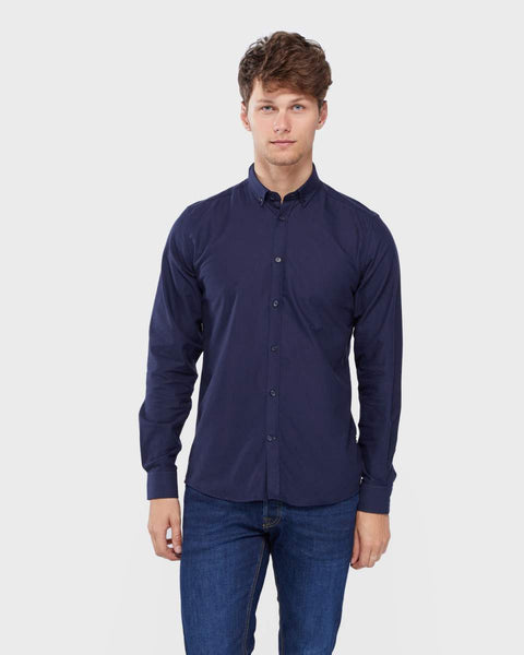 Tailored and Originals York Shirt Navy