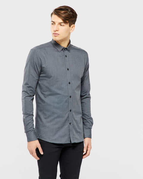 Tailored and originals New london shirt Black Mel