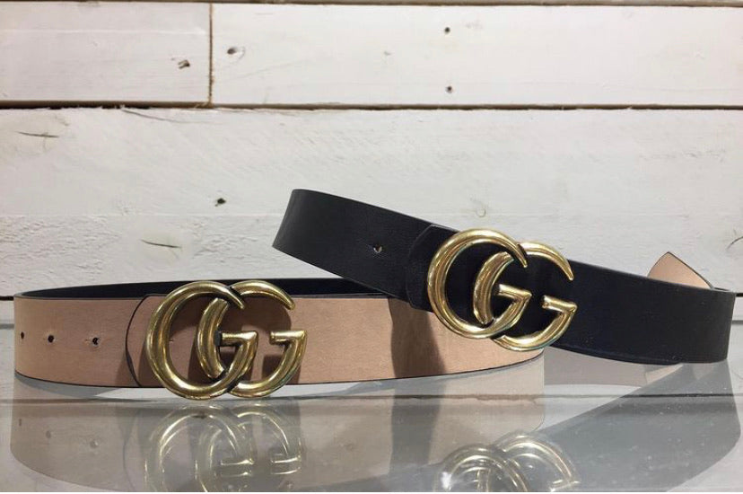 Reversible GG Belt Black/Tan