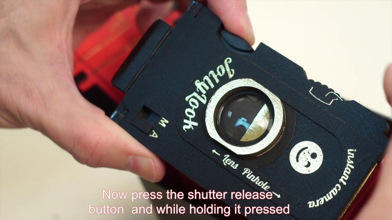 Fixing the shutter of Jollylook Mini