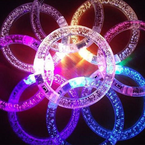 Glowing Color Changing Bracelet
