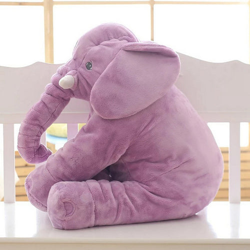 Baby Elephant Soft Stuffed Cushion