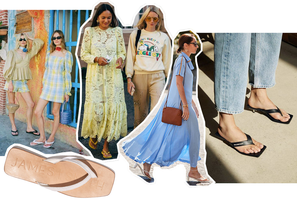 the summer sandal trend: flip flops