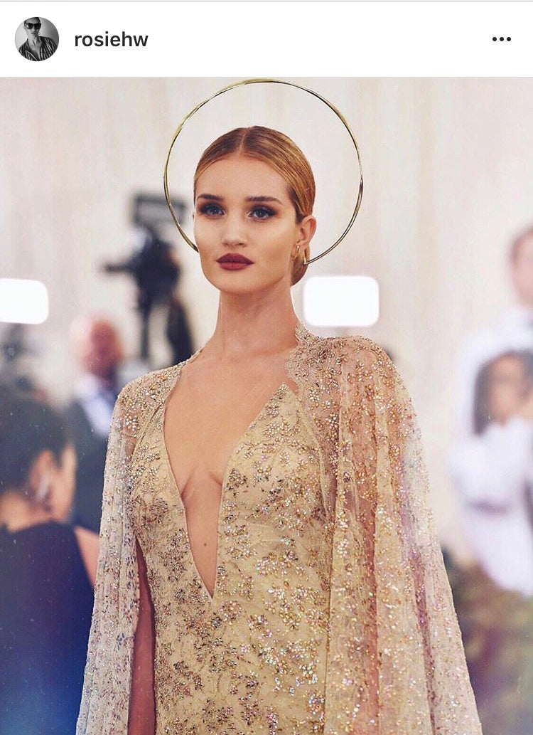 Rosie HW | MET GALA 2018 | James Smith