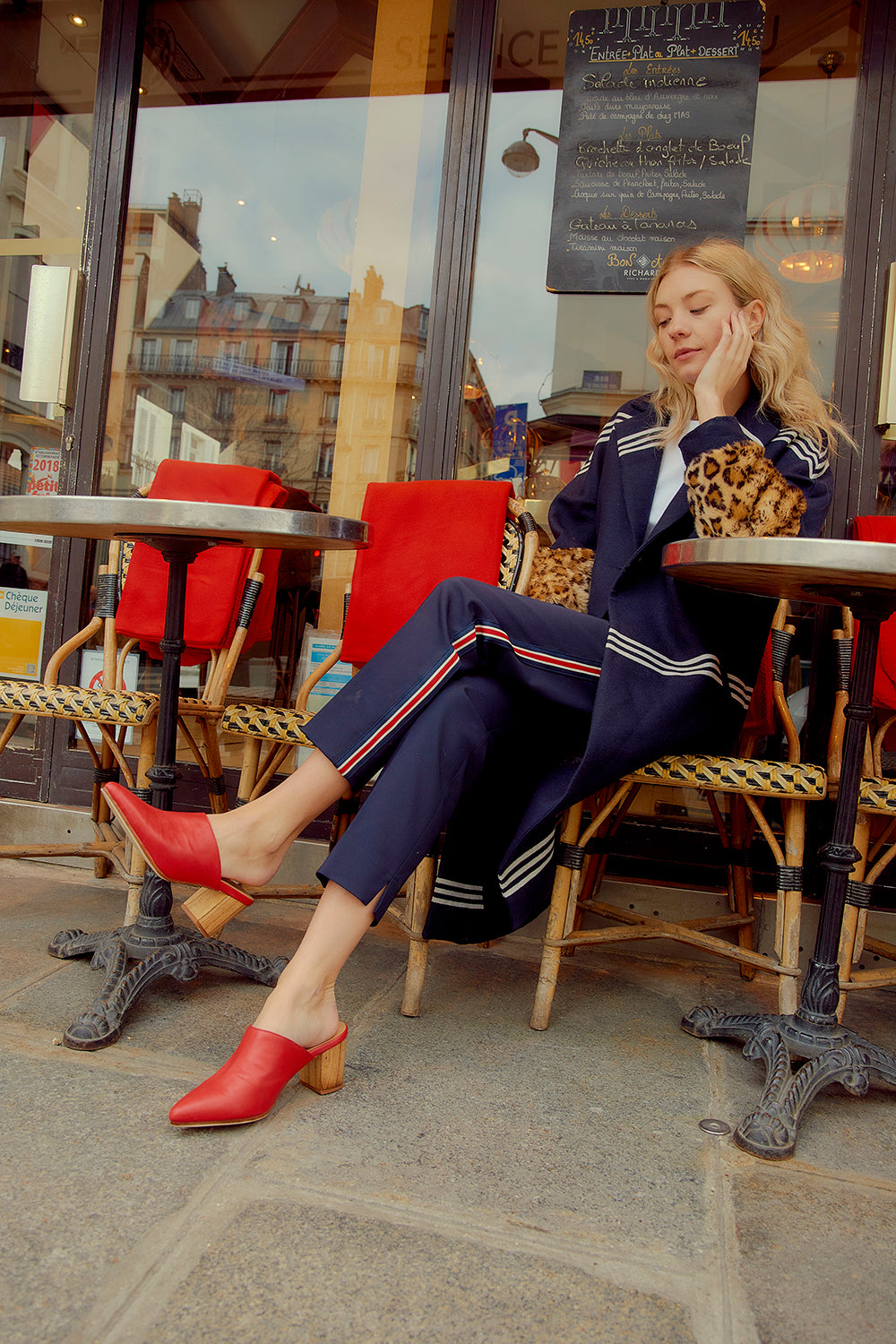 Street Style Shoot in Paris | Le Pointe Shoes | Mules | James Smith