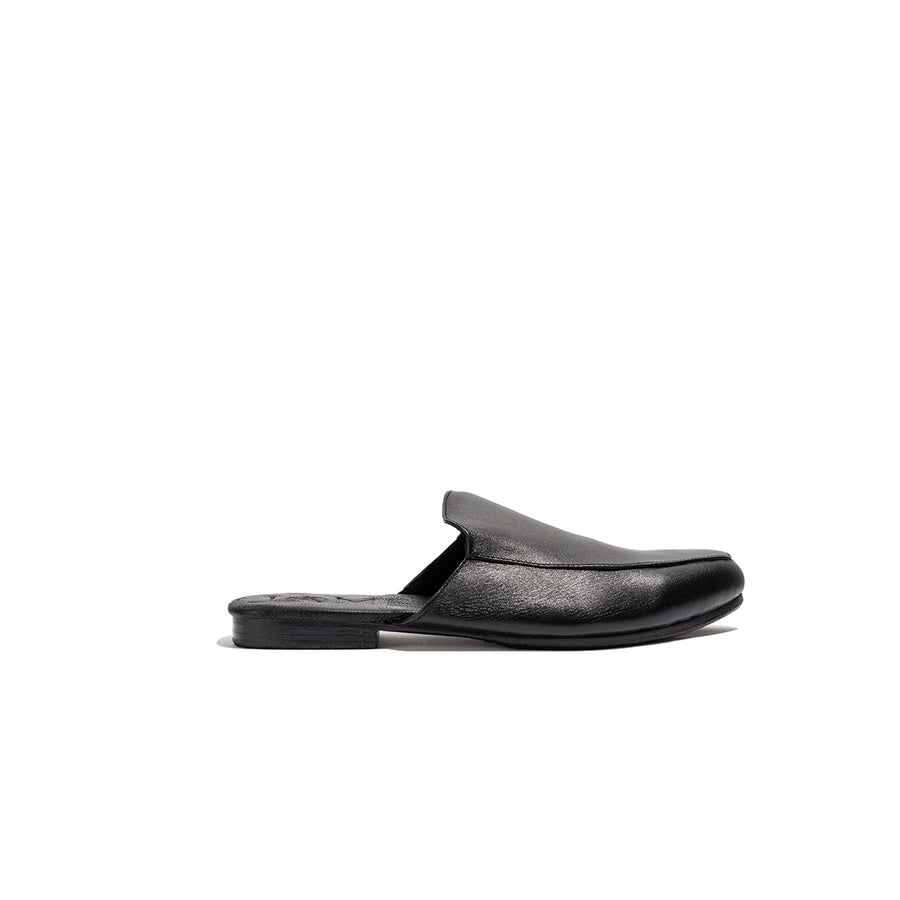'Lower East Side Loafer' - Black Leather