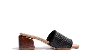 'The Sicily Slide' - Black Rattan