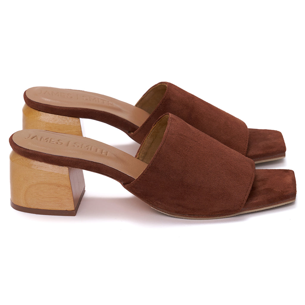 """THE SICILY SLIDE"" - TAN SUEDE"