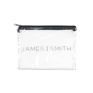 JAMES SMITH ZIP LOCK BAG