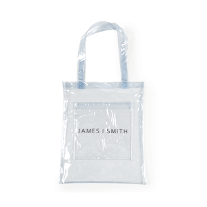 JAMES SMITH PVC TOTE BAG