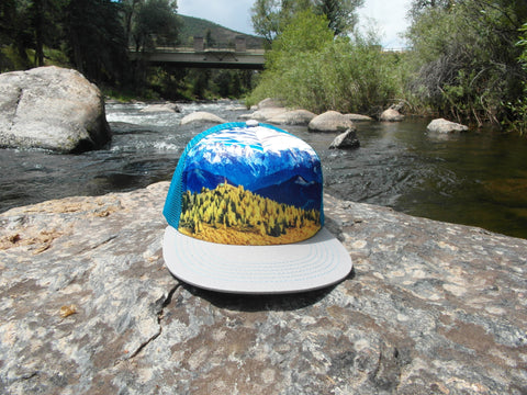 Mountain Trucker Hat by Cool Kids Caps