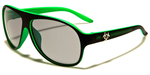 Cool Kids Aviator Sunglasses- Green