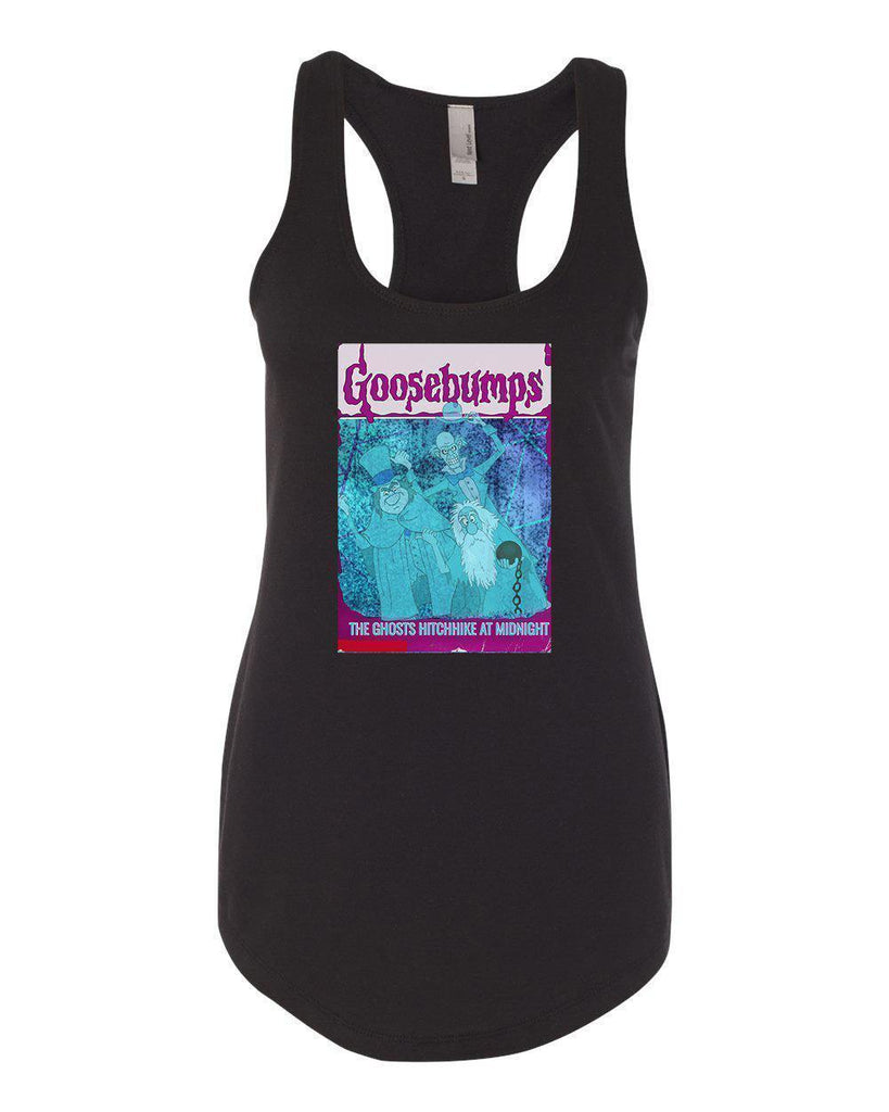 Haunted Mansion Edition Book Ladies Tank Top | The Haunted Mansion Shirts-Ladies Tanks-Dylan's Designs Inc-Dylan's Designs Inc
