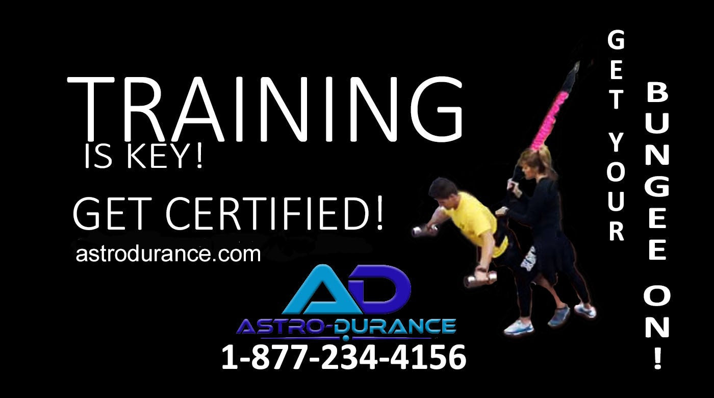 Training is Key! Get Certified by AstroDurance