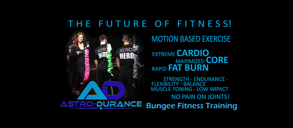 AstroDurance Future of Fitness Training Banner