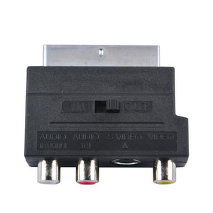 Scart to AV adapter