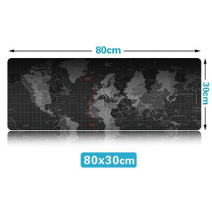 World Map Mouse Mat