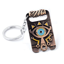 The Legend of Zelda: Eye Symbol Necklace and Key Chain