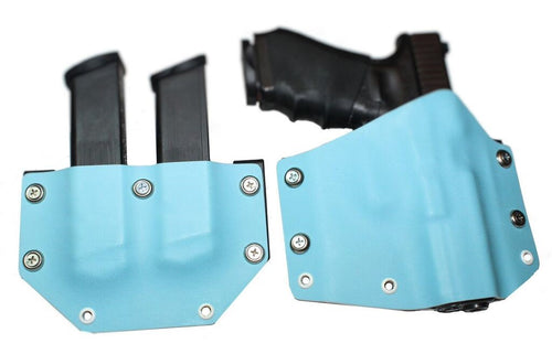 Forte Bella Package: OWB Holster & Double Mag Carrier
