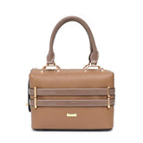 PU Leather Crossbody Purse in Camel