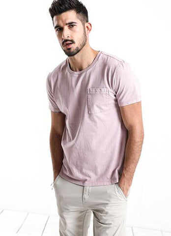 Men's Summer T-Shirt in Pink