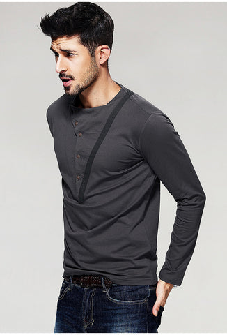 Men's Long Sleeve Slim T-Shirts