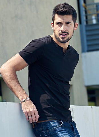 Men's Casual Short Sleeve Slim T Shirt