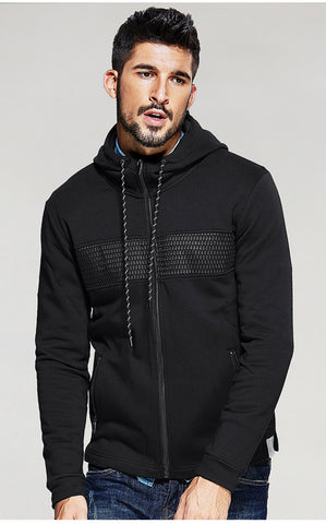 Men's Slim Hooded Top