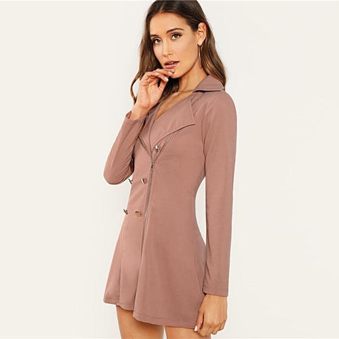 Katy Double Breasted Blazer Dress