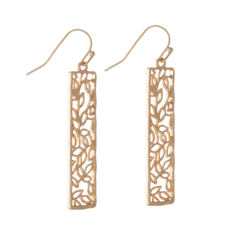Aphrodite Dangling Earrings, Gold - L'Amour Chic Boutique