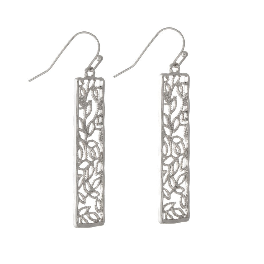 Aphrodite Earrings, Silver - L'Amour Chic Boutique