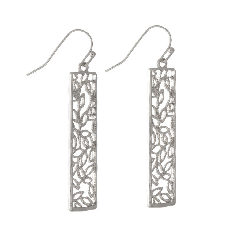 Silver Aphrodite Earrings - L'Amour Chic Boutique