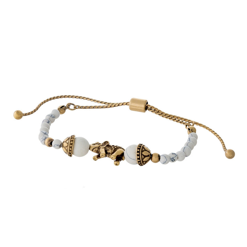 Regal Gold Pull-Tie Bracelet - L'Amour Chic Boutique