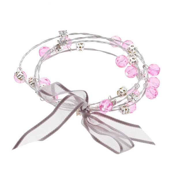 Fair Maiden Bracelet, Silver - L'Amour Chic Boutique