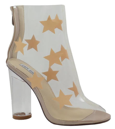 Across the Stars, Clear Nude - L'Amour Chic Boutique