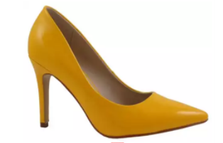 Clssic Heels, Yellow - L'Amour Chic Boutique