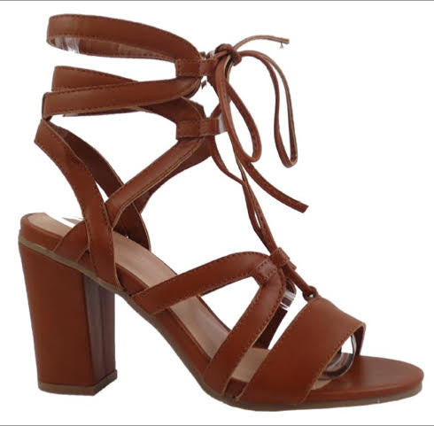 Wild Diva Heels , Brown - L'Amour Chic Boutique