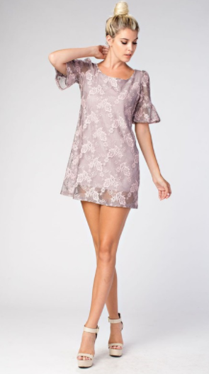 Damsel Shirt Dress, Pink - L'Amour Chic Boutique