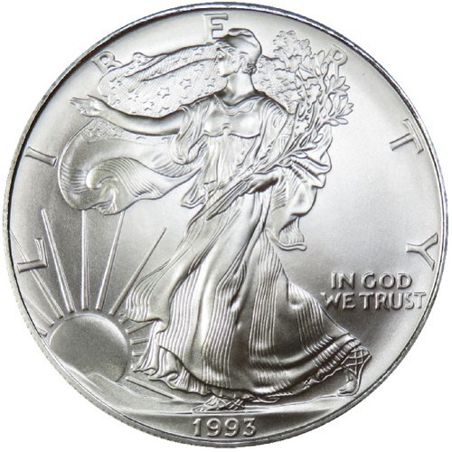 AVAILABLE IN STORE ONLY - SILVER AMERICAN EAGLES - NO ONLINE ORDERS