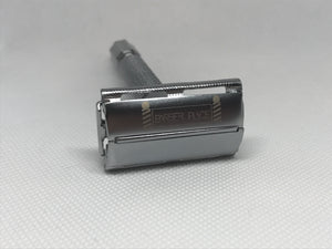 Chrome Butterfly Barber Place Razor With Blades