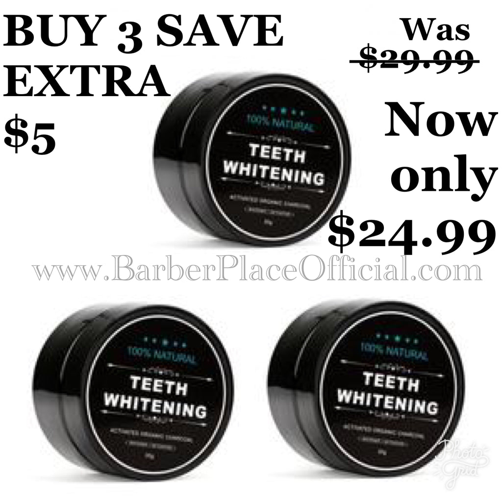 BUY 3-PACK OF TEETH WHITENING AND SAVE EXTRA $5!!!