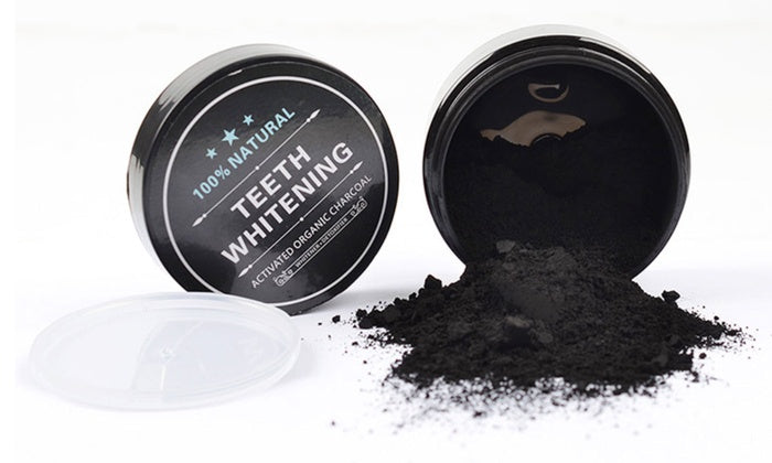 MINT CHARCOAL Teeth Whitening Polish