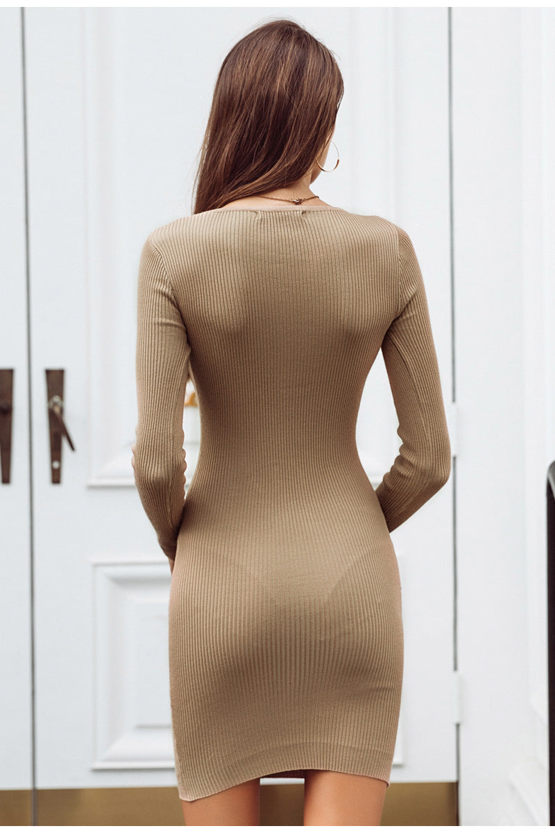 Long Sleeve Mid Dress
