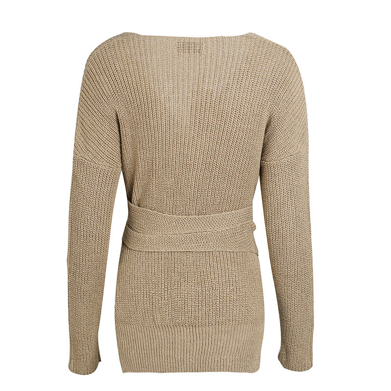Lauren Cropped V-Neck Jumper