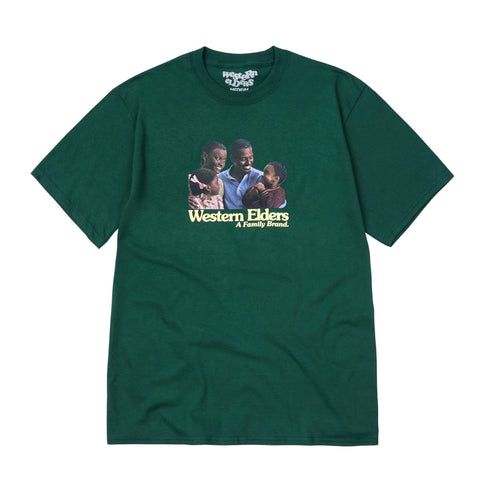 Family Brand tee -  Forest Green