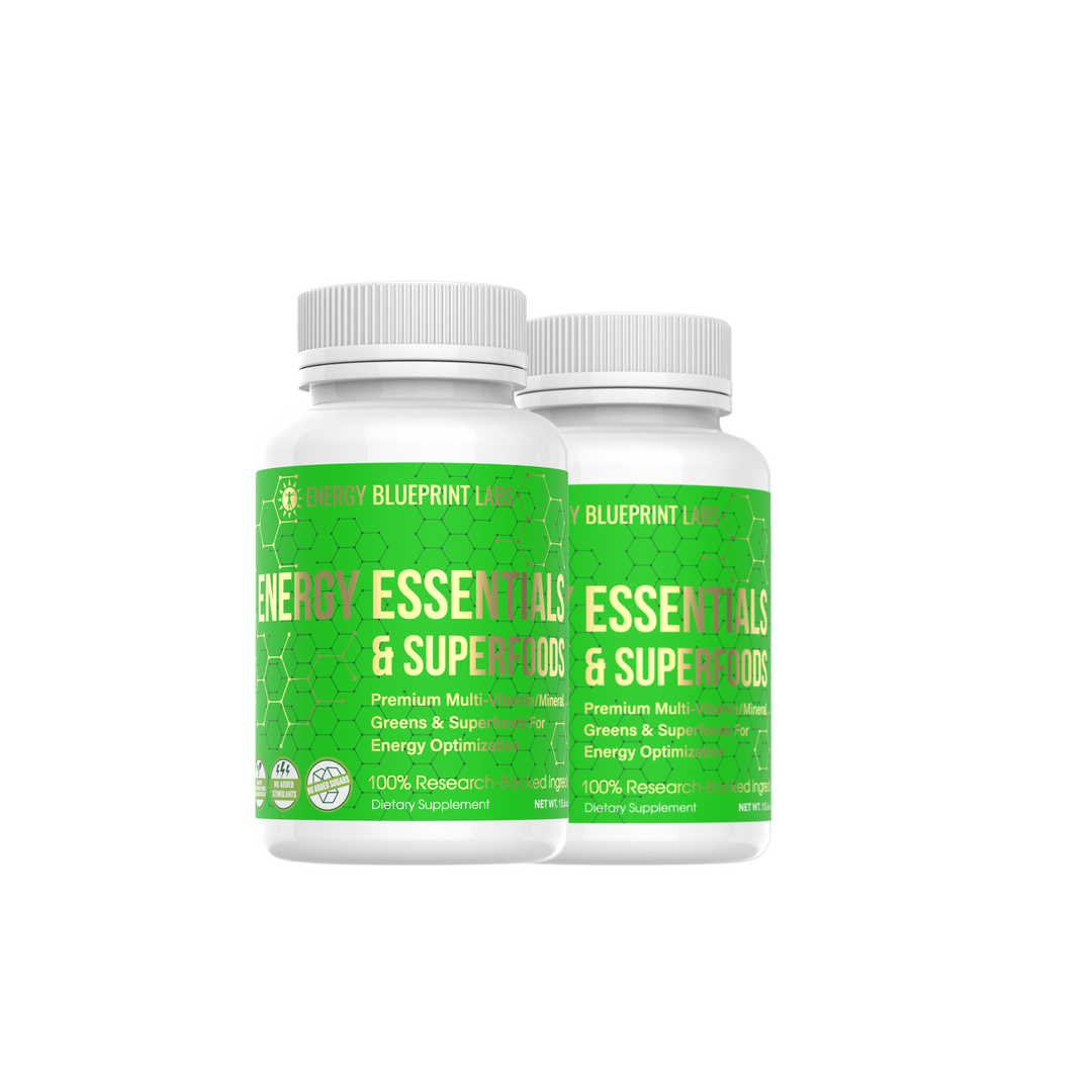 Energy Essentials and Superfoods 2 Bottles