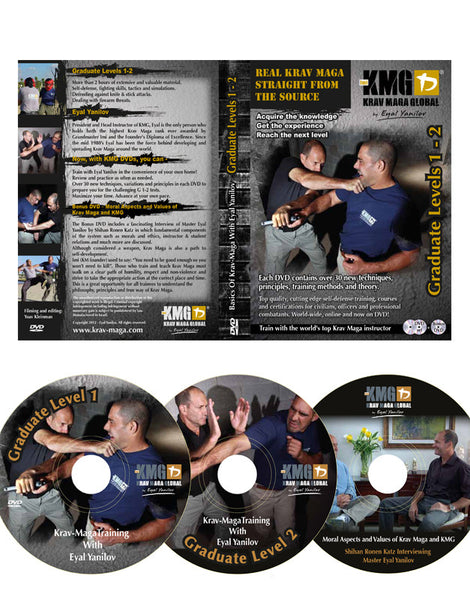 Krav Maga Global G1-2 DVD (Graduate 1-2)