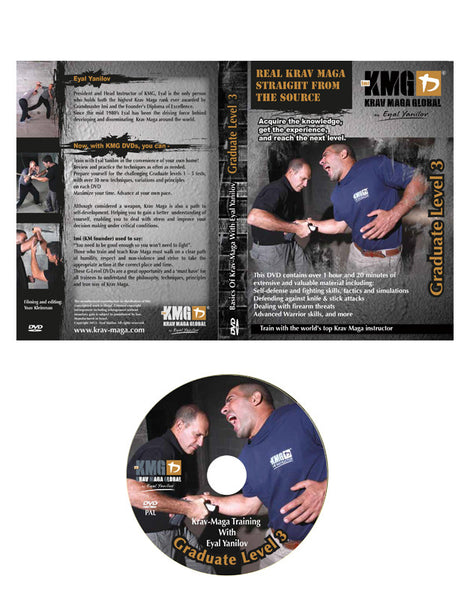 Krav Maga Global G3 DVD (Graduate 3)