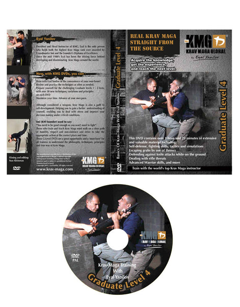 Krav Maga Global G4 DVD (Graduate 4)