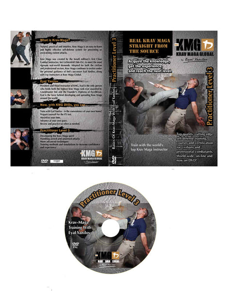 Krav Maga Global P3 DVD (Practitioner 3)